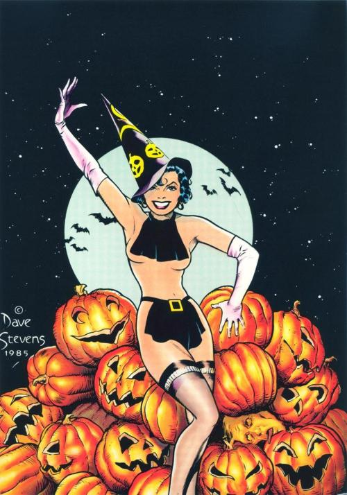 Pumpkin Pie ~ Dave Stevens 1985  via