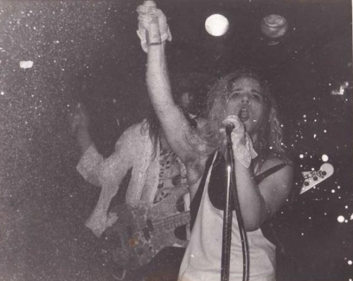 """Ann and Nancy Wilson [of Heart] were nothing but huge supporters of the local music scene. Kelly [Curtis, Mother Love Bone's manager] brought Ann down to the Central to see Andy [Wood] play. Andy got a can of beer, took a big swig out of it, and just shook it up and threw it on Ann. Doused her in beer. She got this horrifically shocked look on her face, and looked up as if to say, 'What the hell?' And Andy just smiled at her and winked. She got the biggest grin on her face.""—former DJ/journalist Jeff Gilbert, from Everybody Loves Our Town: An Oral History of Grunge"