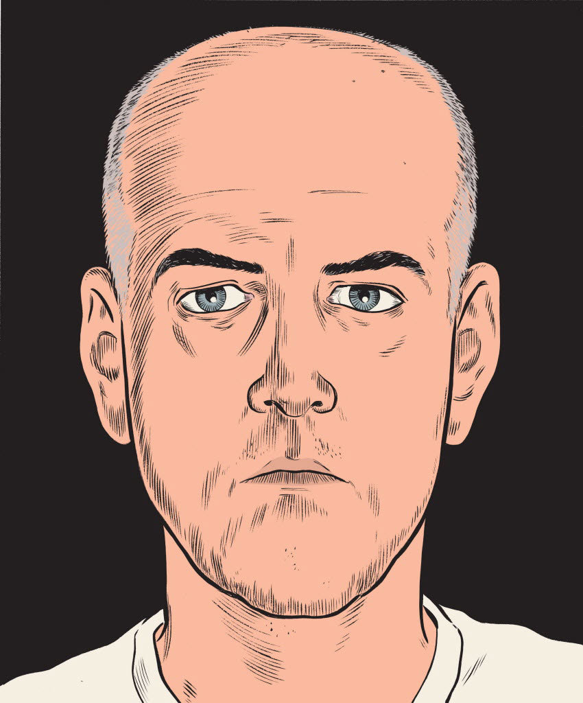 "nparts:  The graphic model: Daniel Clowes returns with The Death Ray ""It's a really difficult thing to do."" Daniel Clowes is trying to  describe the hard-to-name form — we'll call it the graphic novel for the  sake of convenience — of which he is one of the undisputed masters. ""You have to be able to do so many different things well, and yet the  actual storytelling of cartoons is something that you can't get from  being good at any of the other fields, like drawing and writing and  graphic design. It's got to be a specific cartooning gene that you  have."""