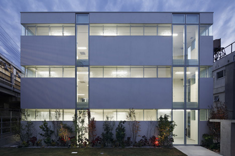 Dezeen » Blog Archive » Office building by Takeshi Hosaka