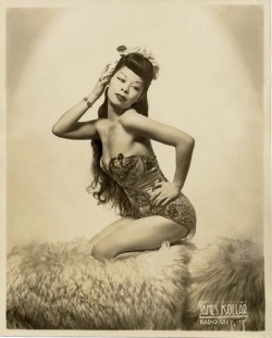 "bhof:  Noel Toy, ""The Chinese Sally Rand"" (1918-2003)"