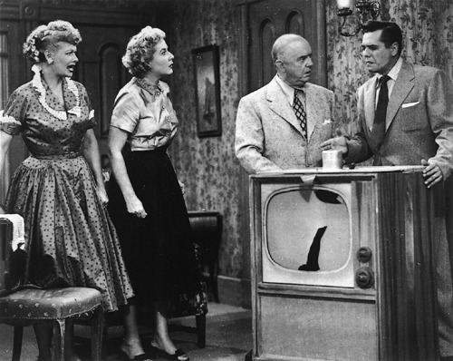 "A still from the I Love Lucy episode ""The Courtroom,"" 1952."