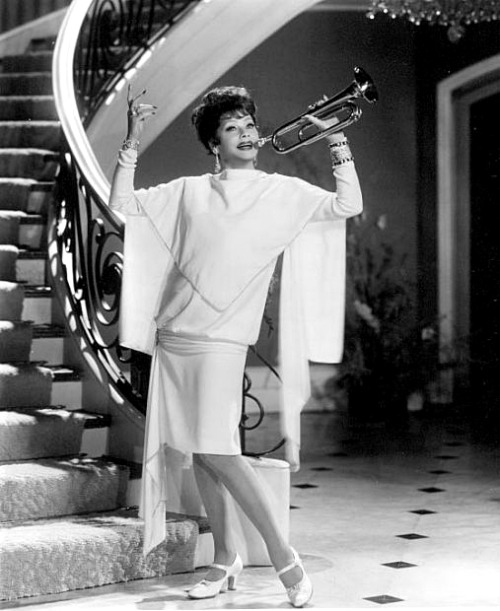 Lucille Ball in Mame.