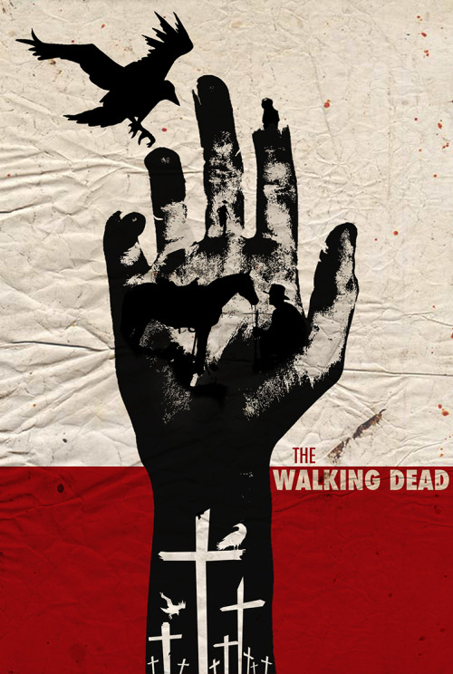fuckyeahmovieposters:  The Walking Dead by Luis Fernando Cruz