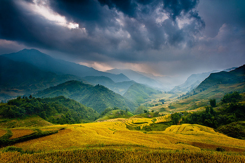 "deerlights:  ""Mountain Storm"" Vietnam~Asia~Sapa~Landscape~Photography~Travel (by Dan Ballard Photography)"
