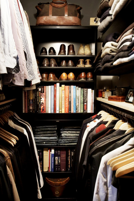 Can I…  Can I have this closet?  Please?