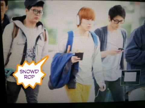 111022 Sungmin and Shindong @ Incheon Airport (going to NY) cr.snowdrop8611