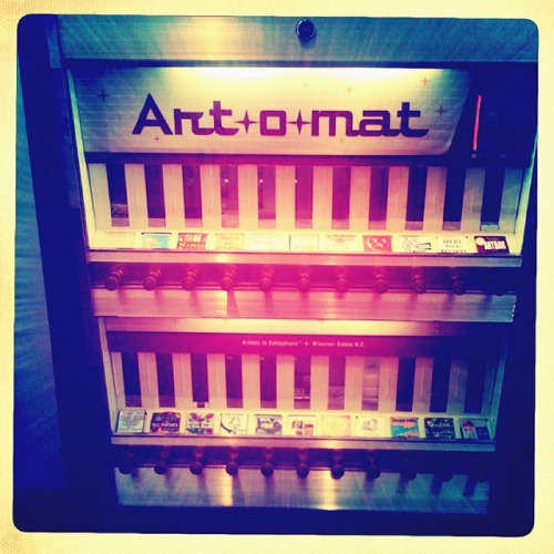 Art-o-mat by neonwings on Flickr.