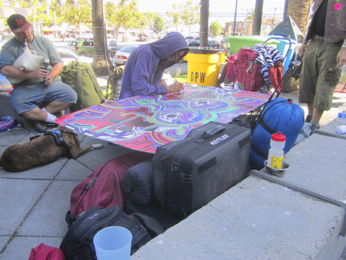 Art Therapy - OCCUPYSF - Justin Herman Plaza - 10/18/11
