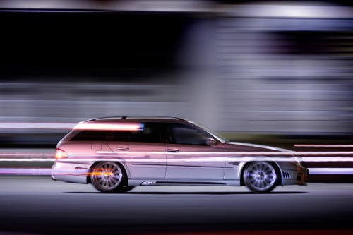 automotivated:  MERCEDES BENZ E CLASS W211 WAGON -2006/2007- Sports Line Black Bison Edition