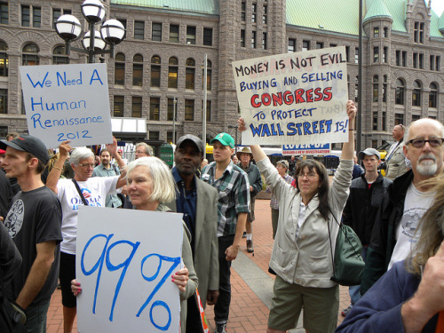 OccupyMN in Minneapolis: Day 1 by Fibonacci Blue on Flickr.