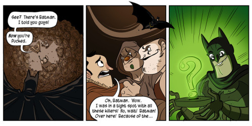 Once again something from Penny-Arcade, they are awesome. I posted this for a couple reasons 1) That is what I would do and 2) a friend of mine who loves Batman and is busy playing the game… probably as I write, who would get a kick out of this :)