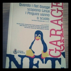 NETGarage #book #linuxday #linuxdaymo  (Taken with instagram)