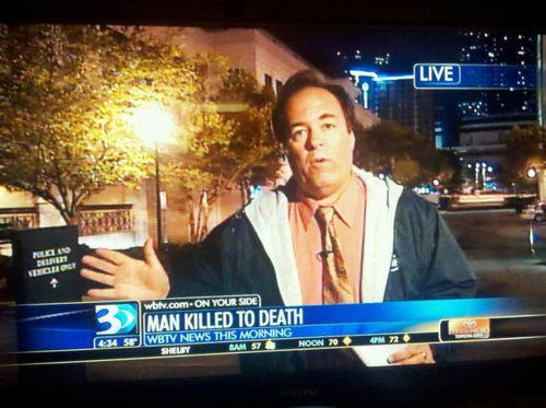 He was murdered by death.