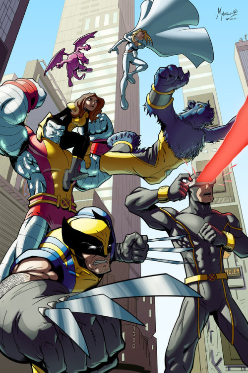fuckyeah-kittyandcolossus:  Astonishing X-Men by *Mahasiddha