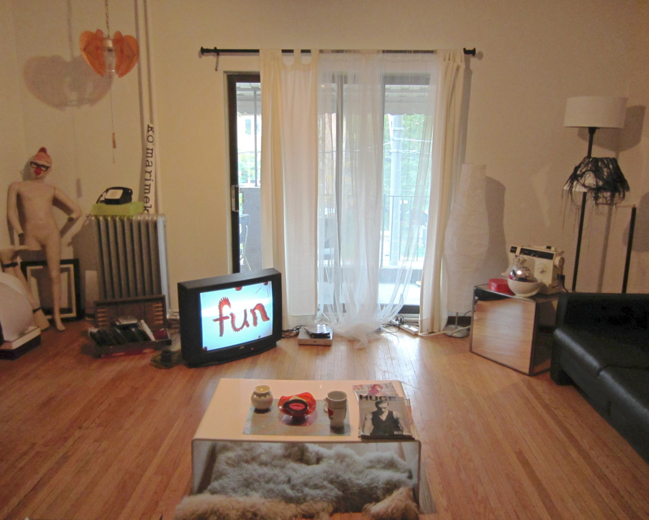 The Ode To: The fun living room. MY HOUSE