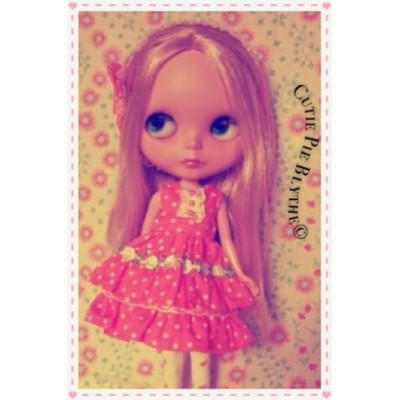 #Blythe #doll #toy #kawaii #adorable #cute #pink #dress #instagood #Getpopular #makeup #colorful #inkstagramz #IGers #tumblr #instagram #webstagram #popular #iugger #photooftheday #blonde #freckles #sweet (Taken with instagram)
