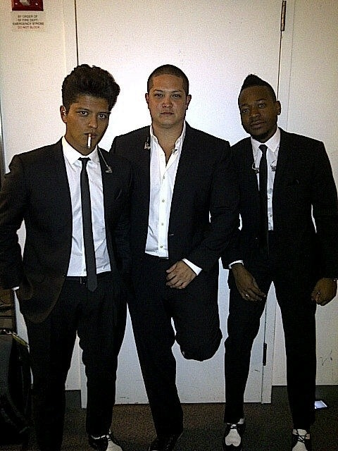fashionfever:  Bruno looks so hot !