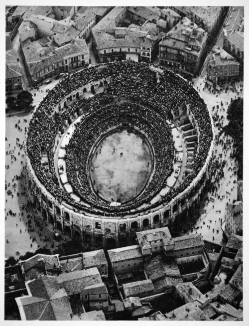 Roman arena, Bull Fight, 1935