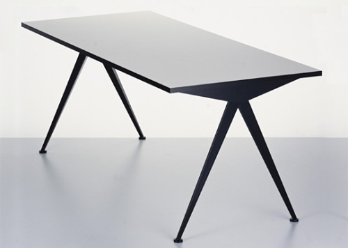 Compass Table by Jean Prouve