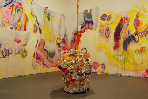 installation view: Palatial Hemorrhages phase 4; CoLab, Austin, March 2011.
