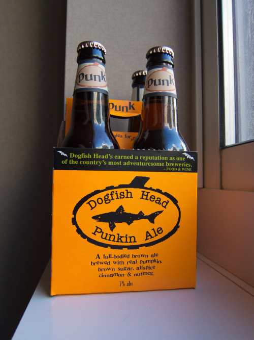 laughingsquid:  Dogfish Head Punkin Ale  Awsome