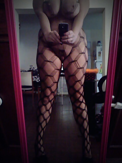 Fishnet bodystockings…mhmm