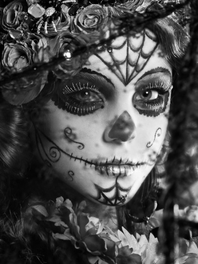 Otoño de los Muertos  Makeup by Jennifer Ruth Model Devan Geselle Wardrobe by Dani Barnes Productions & Boo La La Costumes © 2011 Lloyd K Barnes Photography