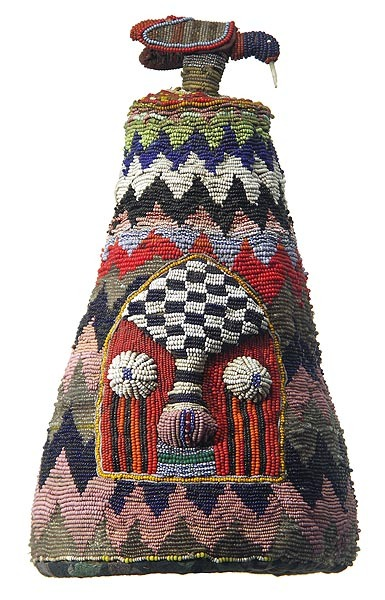 Yoruba Beaded Crown, posted by artpropelled