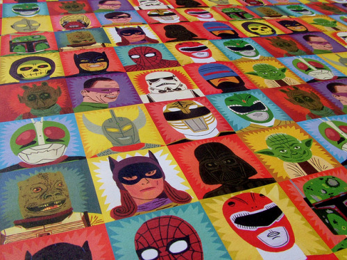 Toasted wrapping paper by Jack Teagle on Flickr.