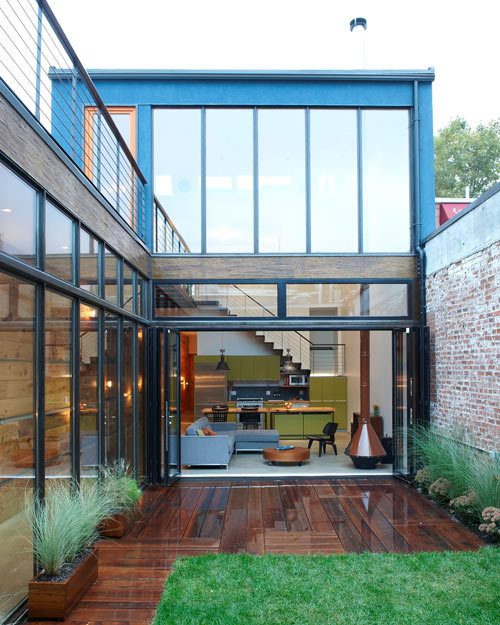 Atrium House By MESH Architectures | Design Milk via - micasaessucasa: