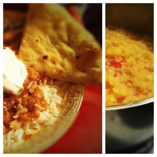 Daal-icious! (Oh, the puns—I can't help myself). #homemade #indian #food  (Taken with instagram)