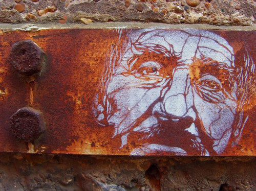 Rusted Face - C215  Courtesy of The Dirt Floor