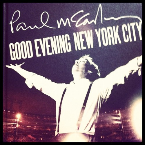 Paul McCartney - Good Evening New York City  (Taken with instagram)