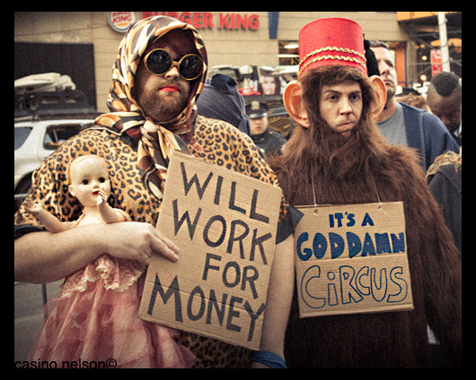 Occupy Wall Street - Flying Monkeys and The Babe