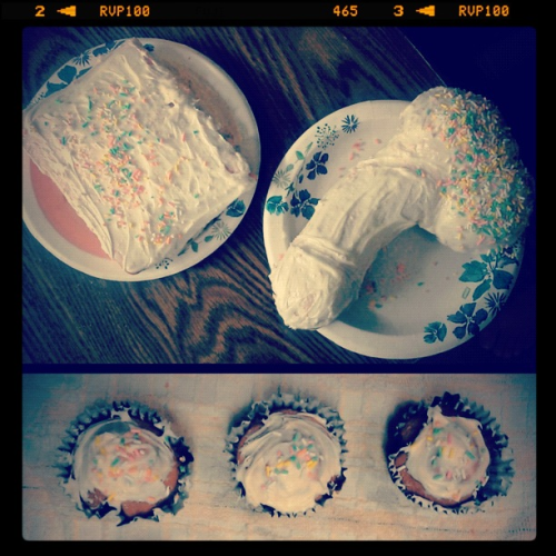 Baking with Chanie and stephh