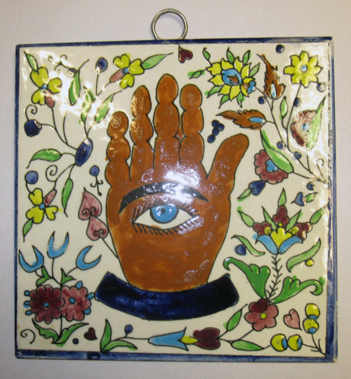 Hand Eye Truth Tile