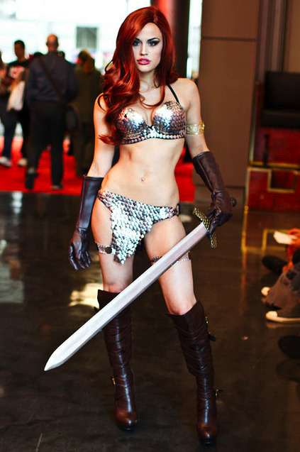 Cosplay of the day: Red Sonja