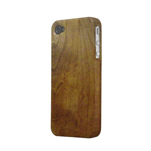 Wood grain pattern iPhone4S