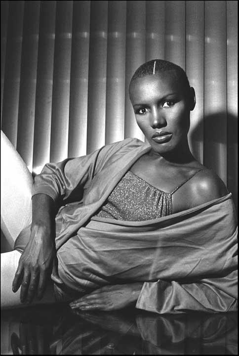 Grace Jones … way back when (1977)