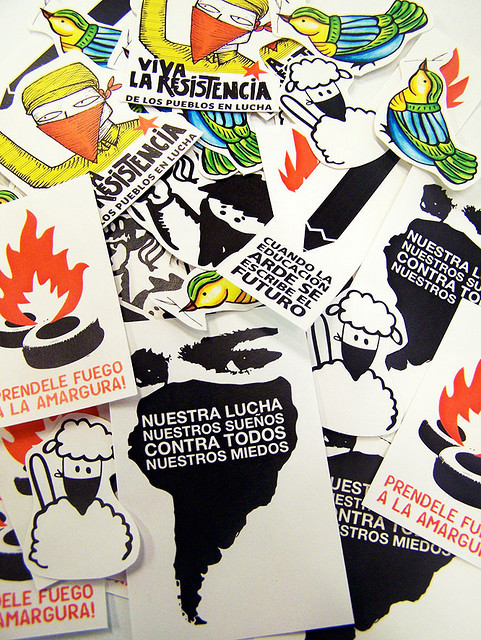 Stickers! by SUBAMERICA! ediciones on Flickr.