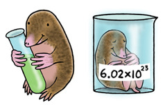 scientistintraining:  Chemistry Mole  Happy Mole Day.