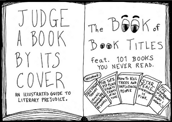 The unlikely book of book titles editorial cartoon and top ten book titles jokes by laughzilla for the daily dose.