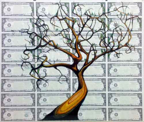 the Money Tree(uncut sheet)