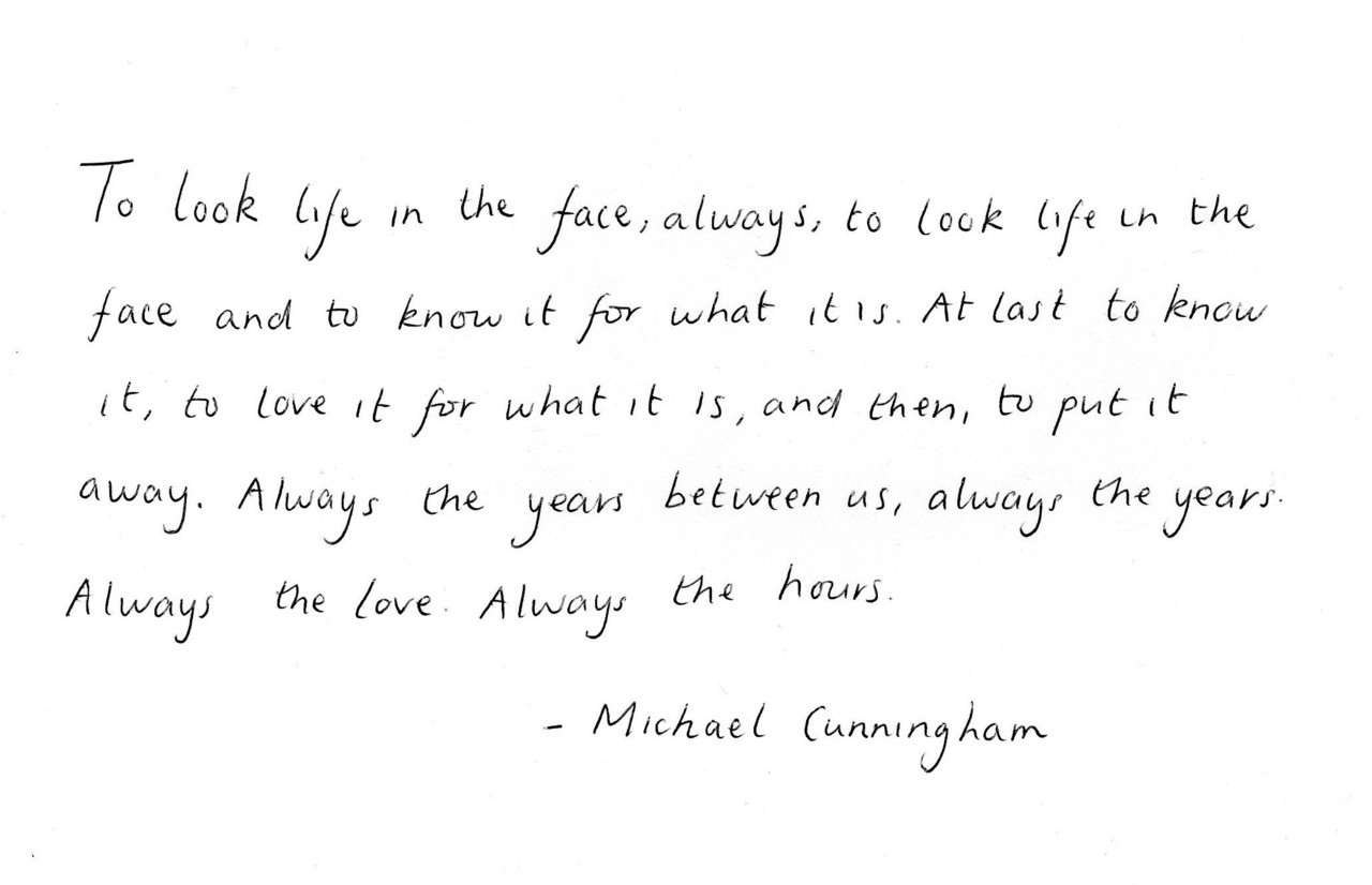 Michael Cunningham, The Hours