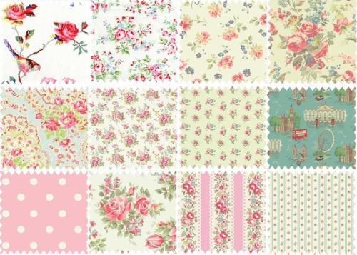 I adore these fabrics from Cath Kidston. I'd love to buy them all and make a patchwork quilt or something but they're really expensive and I just can't afford it!