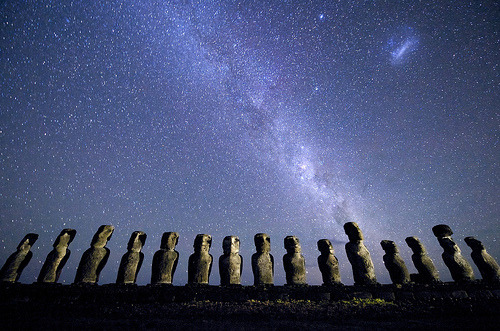 Easter Island Moai (by JC Richardson)