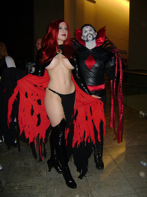 Goblin Queen and Mister Sinister by BelleChere on Flickr.