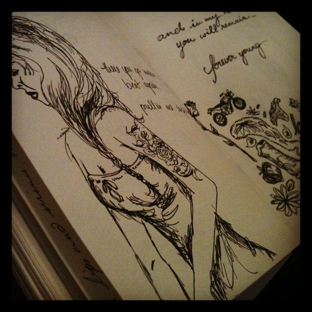 #doodle #ink #drawing #sketch #sketchbook #moleskine (Taken with instagram)