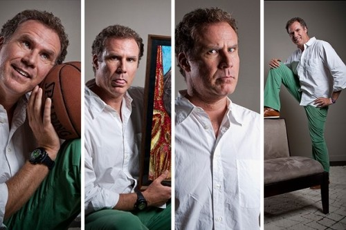 Actor and comedian Will Ferrell poses at Gary Sanchez Productions in Los Angeles. Ferrell is receiving the 14th Annual Mark Twain Prize for American Humor at the Kennedy Center on Oct. 23. [Check out more photos from his career.]